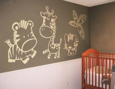 funny wall sticker for kids
