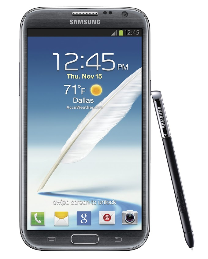 Samsung Galaxy Note II for T-Mobile receives Android 4.3 software update