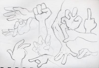 Preparing My Impromptu Remarks: Hand References