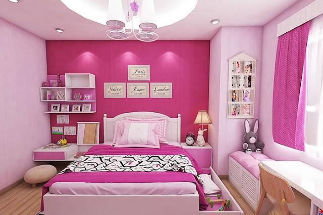 Lựa chọn màu sắc ấm để trang trí phòng ngủ