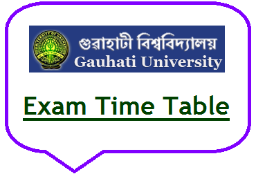 Gauhati University Exam Date 2019