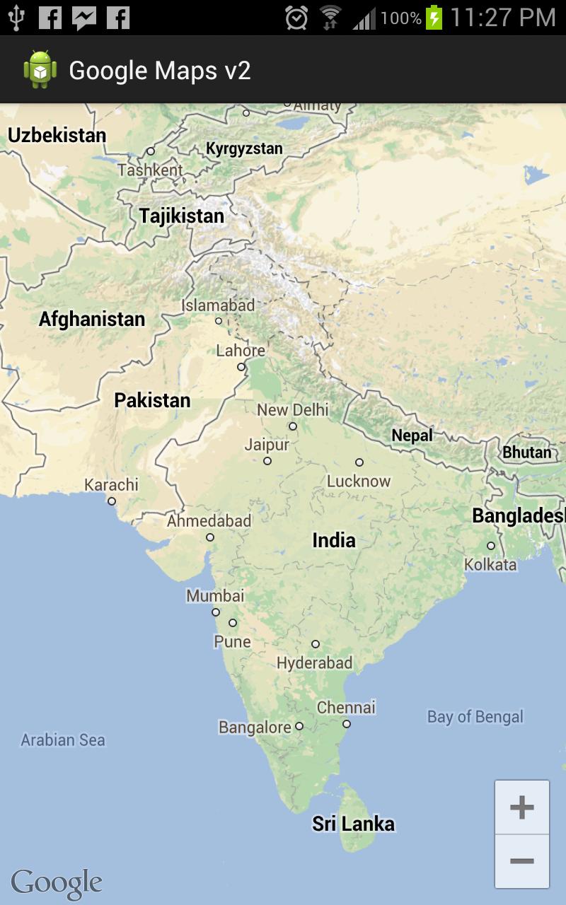 ramsandroid: Google Maps Android API v2