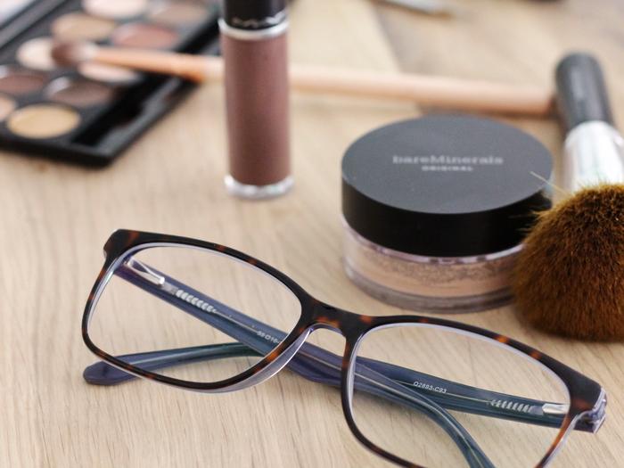 Brillenträger Make up
