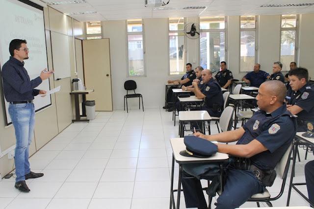 Detran capacita Guarda Municipal de Curitiba (PR) para fiscalização de trânsito