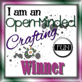 Open-Minded Crafting Fun Winner