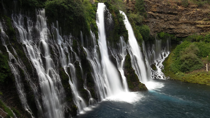 Wallpaper: Burney Falls