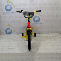 16 wimcycle minion lisensi sepeda anak bmx