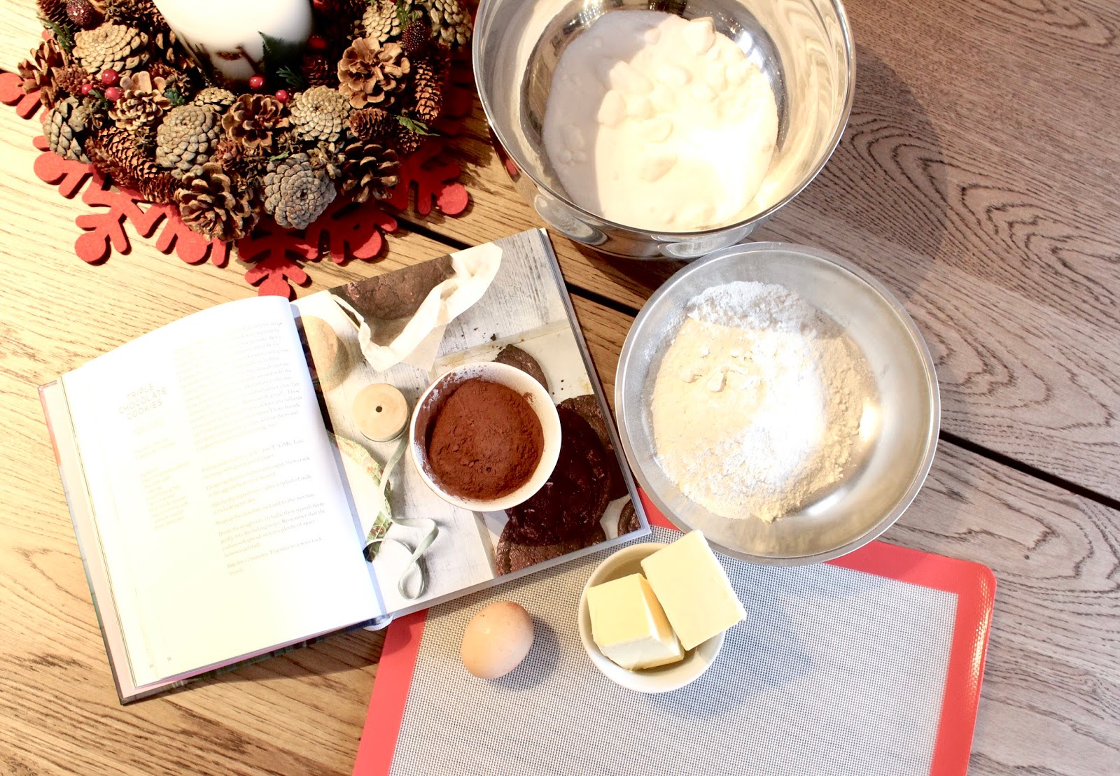 Festive Baking: Tanya Burr's Triple Chocolate Cookies