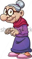 Chistes de ancianos - Viejita arrebatada, un joven guapo, con un cuerpo escultural, estaba desesperado pues acababa de terminar los estudios