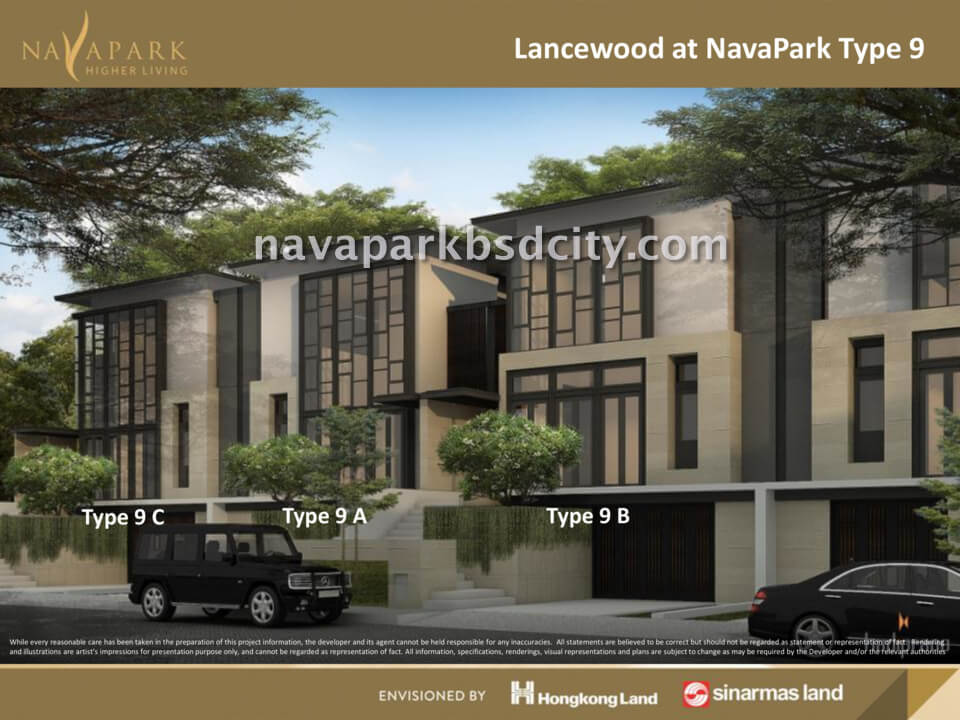 Tipe 9 Lancewood Nava Park BSD