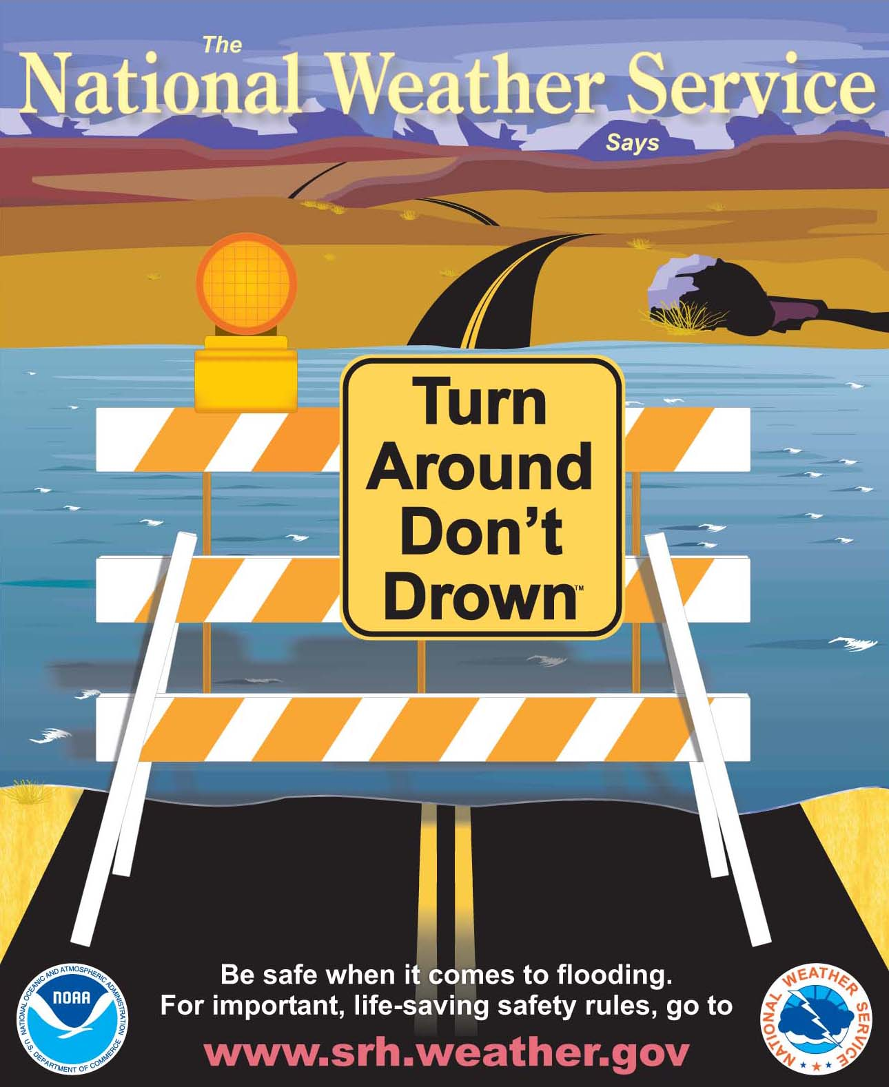The Weather Guy: Flash Flood Safety Rules