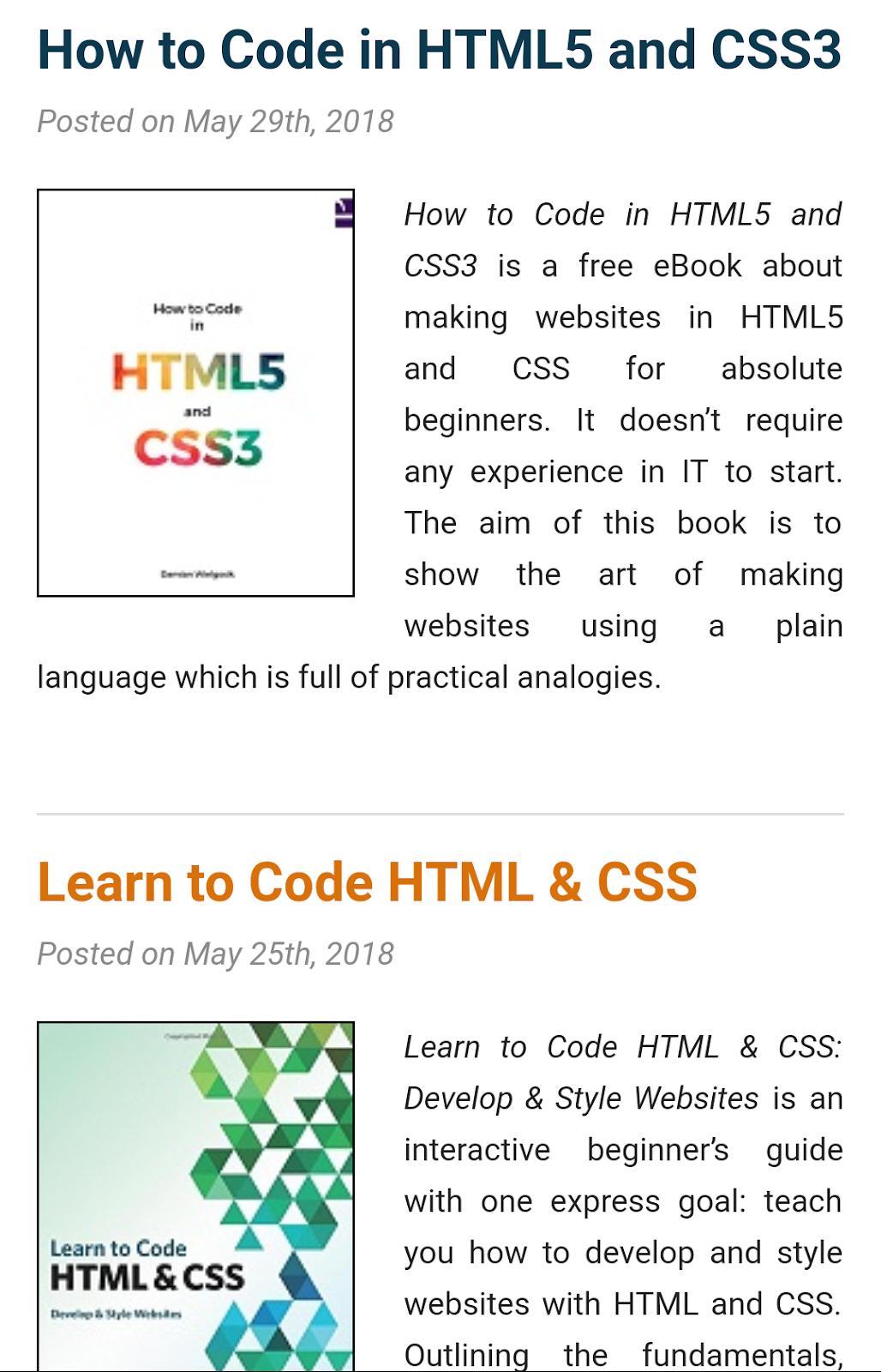 Html5 Programming Ebook
