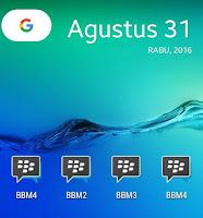 Download Multi BBM versi 3.0.1.25 Terbaru