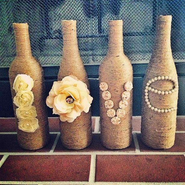 Wine Bottle Diy Crafts: Craft Project Ideas: DIY WINE BOTTLE CRAFT