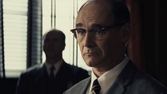 Mark Rylance in Steven Spielberg's Bridge of Spies, Directed by Steven Spielberg