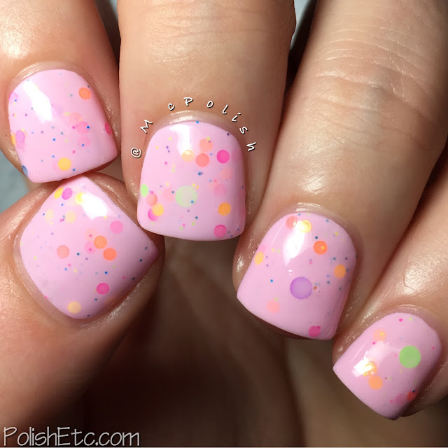 Lavish Polish - Summer 2016 Collection - McPolish - Pink Lemonade