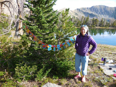 Ann Vinciguerra's Birthday at Alp Lake, Montana