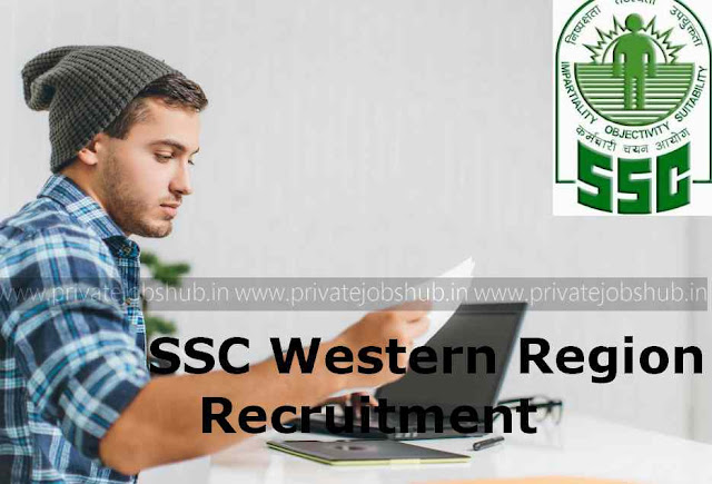 SSC Western Region Recruitment