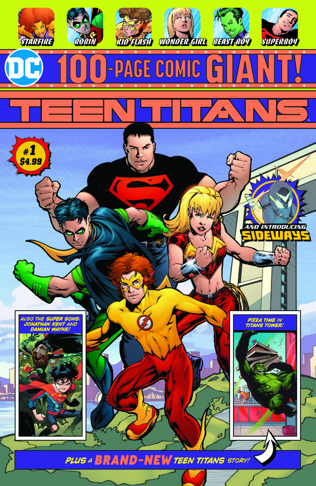 Teen Titans 100-Page GIANT