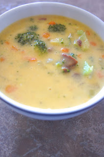 Loaded Broccoli Cheese and Bacon Soup: Savory Sweet and Satisfying