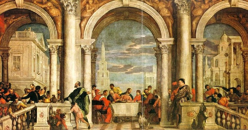 Fx Reflects: Veronese's Christ in the House of Levi (1573 ...
