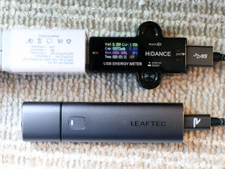 LEAFTEC MINI iQOS互換機充電電圧と充電電流のチェック!