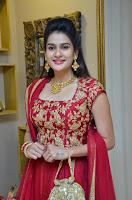 Jenny Honey in Stunning Dark Red Anarkali Dress at Splurge   Divalicious curtain raiser ~ Exclusive Celebrities Galleries 030.JPG