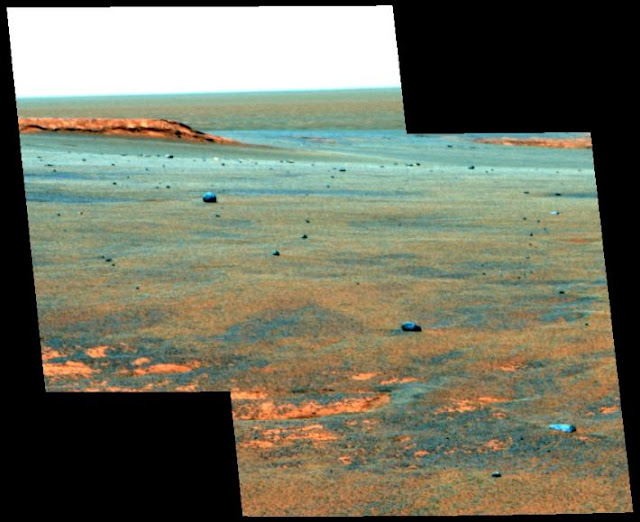 Meteorites reveal lasting drought on Mars