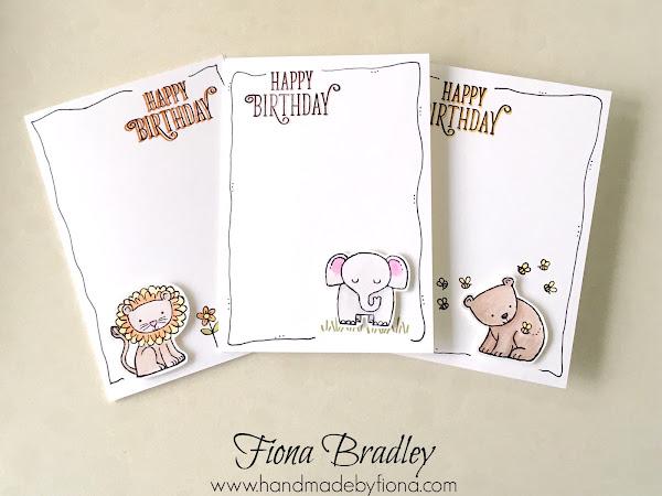 A Little Wild About Children's Birthday Cards