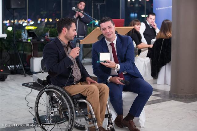 Δωρεά νέου αγωνιστικού σασί στον 1ο Έλληνα Οδηγό Αγωνιστικού Αυτοκινήτου με αναπηρία στο Ναύπλιο