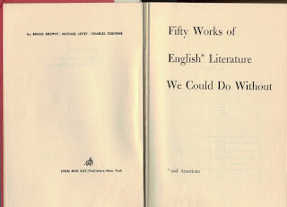 Fifty Works of English Literature We Could Do Without