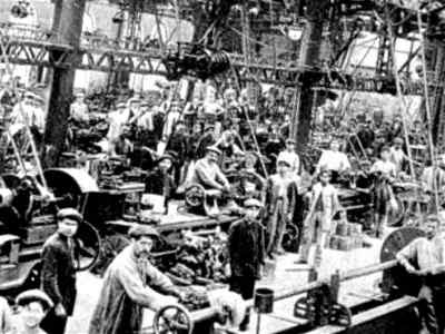 que fue la Revolución Industrial