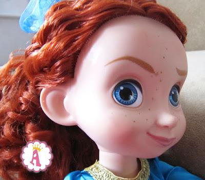 Рыжая кукла малышка аниматор из коллекции Дисней