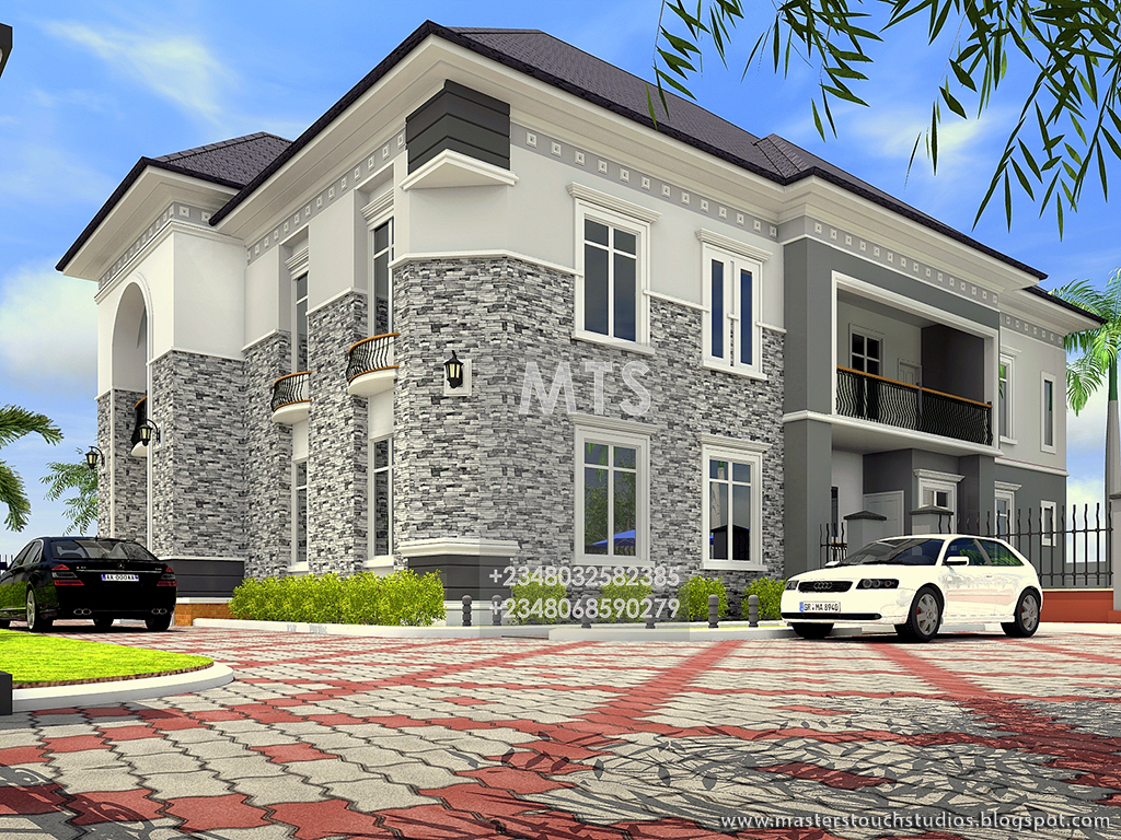 External dimension 13m by 19m 5 bedroom duplex