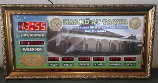 Jadwal sholat Digital Palembang