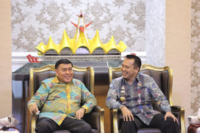 Gubernur Ridho dan Dubes Sjachroedin Jajaki Kerjasama Perdagangan ke Eropa Timur