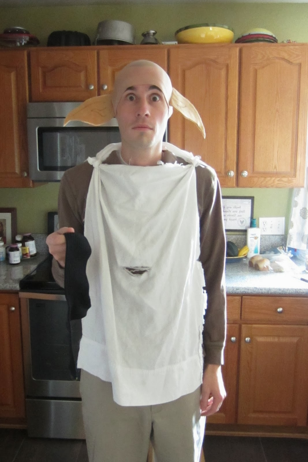 sc 1 st  the Princess and the Pea & the Princess and the Pea: Halloween Costume #3 -- Dobby the House Elf