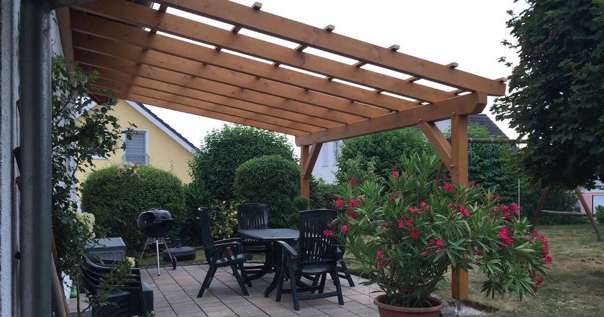 terrassenuberdachung an dachsparren befestigen, holzwurmtom.de: bau einer terrassenüberdachung - teil 3, Design ideen