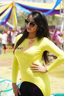 Actress Sanjana Galrani High Definition Pos at Holi Celebrations  0009.jpg