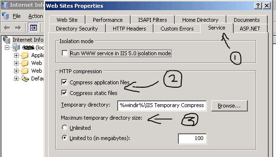 IT Click: 2  How to enable IIS 6 (HTTP) GZIP compression for PHP ?
