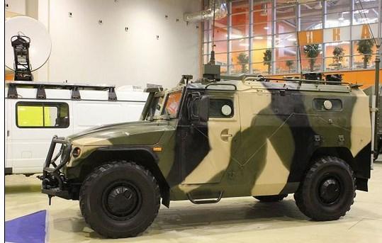 Kendaraan Lapis Baja Rusia Dilengkapi Dengan Peralatan Canggih