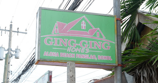 GING-GING HOMES | Budget Accommodation in Alona Beach Panglao