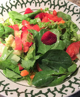 Spinach Salad-Strawberry