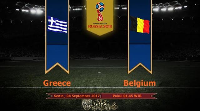 Prediksi Bola : Greece Vs Belgium , Senin 04 September 2017 Pukul 01.45 WIb