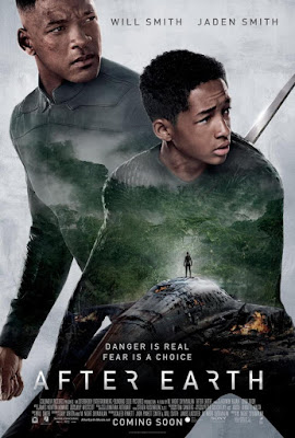will smith, jaden smith, cartel, película, cartelera, ciencia ficción, after earth, distopia, nos vamos al cine,