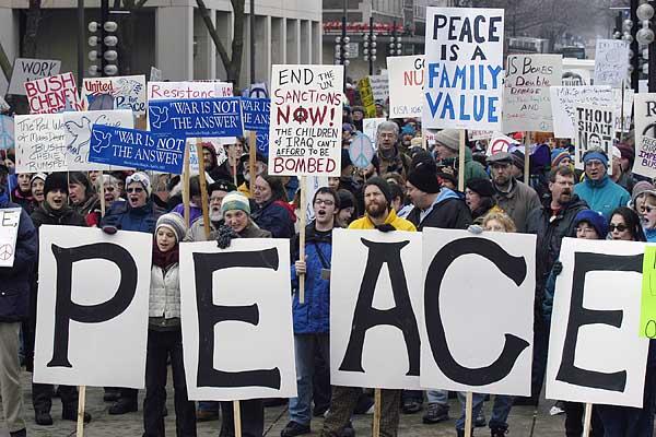 Qaiser Shahzad: Peace MarchMarch For Peace