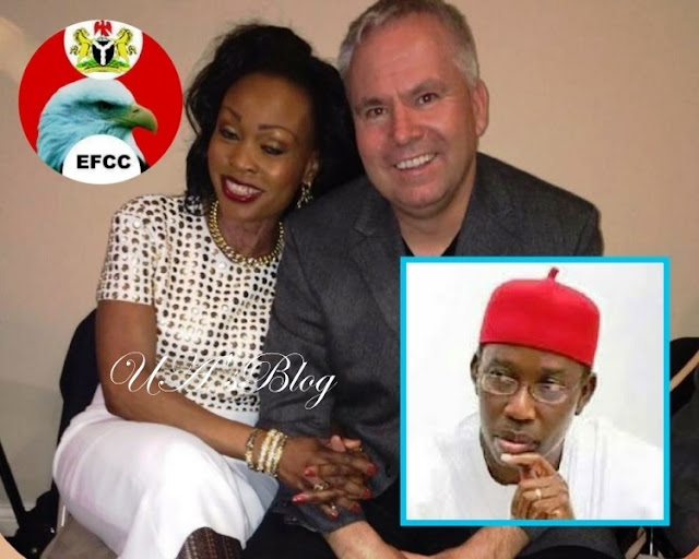 EXCLUSIVE: Presidency places Gov. Okowa's sister Ivana Shenton and her husband under security watch over suspected money laundering.