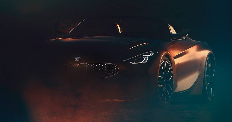 Bmw Z4 Concept Teased Production Model Confirmed For Next