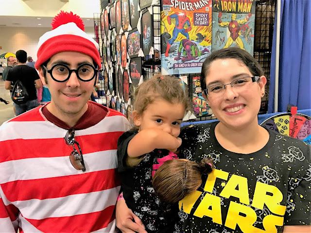 Waldo with Leia and I