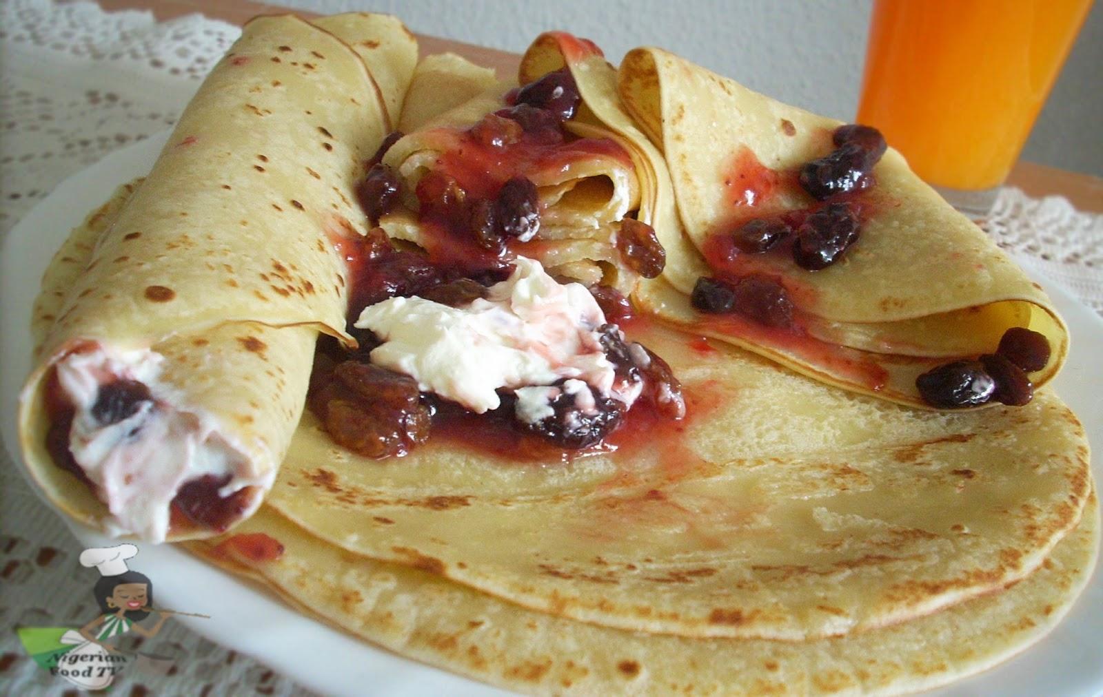 How to Make Nigerian Pancake ,Nigerian Pancake
